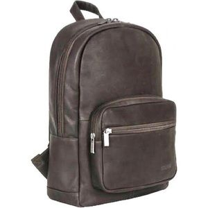 Kenneth Cole Reaction Brown Leather Backpack Bag